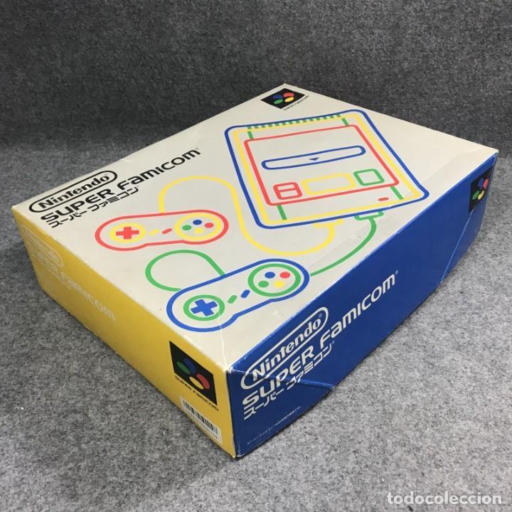 Videojuegos y Consolas: CONSOLA NINTENDO SUPER FAMICOM JAP CON CAJA - Foto 2 - 277234143