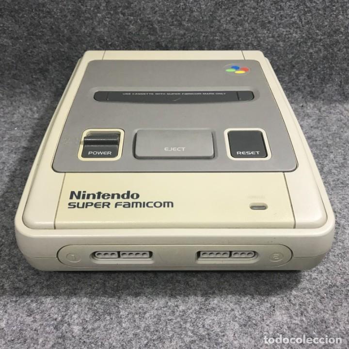 Videojuegos y Consolas: CONSOLA NINTENDO SUPER FAMICOM JAP CON CAJA - Foto 4 - 277234143