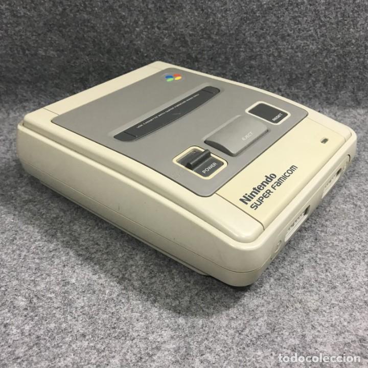 Videojuegos y Consolas: CONSOLA NINTENDO SUPER FAMICOM JAP CON CAJA - Foto 5 - 277234143