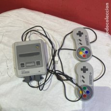 Videojuegos y Consolas: NINTENDO SNES MINI CLASSIC. RARA . VER FOTOS. Lote 277287063