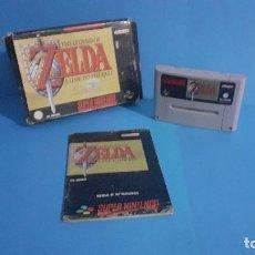 Videojuegos y Consolas: JUEGO SÚPER NINTEDO THE LEGEND OF ZELDA A LINK TO THE PAST.. Lote 277538118