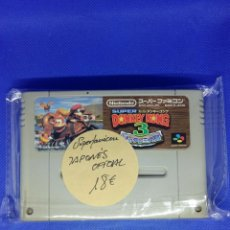 Videojuegos y Consolas: JUEGO NINTENDO SUPER FAMICOM JAPAN DONKEY KONG 3. Lote 277854998