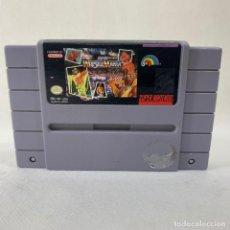 Videojuegos y Consolas: VIDEOJUEGO SUPER NINTENDO - SNES - SUPER WRESTLE MANIA - USA. Lote 279511143