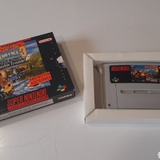 Videojuegos y Consolas: DONKEY KONG COUNTRY 3 DIXIE KONG DOUBLE TROUBLE JUEGO PARA SUPER NINTENDO. Lote 280381883