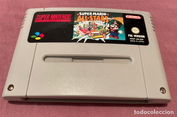 SUPER MARIO ALL STARS - CARTUCHO PAL ESP - SUPER NINTENDO - 1993 - EN MUY BUEN ESTADO (Juguetes - Videojuegos y Consolas - Nintendo - SuperNintendo)