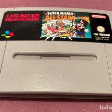 Videojogos e Consolas: SUPER MARIO ALL STARS - CARTUCHO PAL ESP - SUPER NINTENDO - 1993 - EN MUY BUEN ESTADO. Lote 283675813