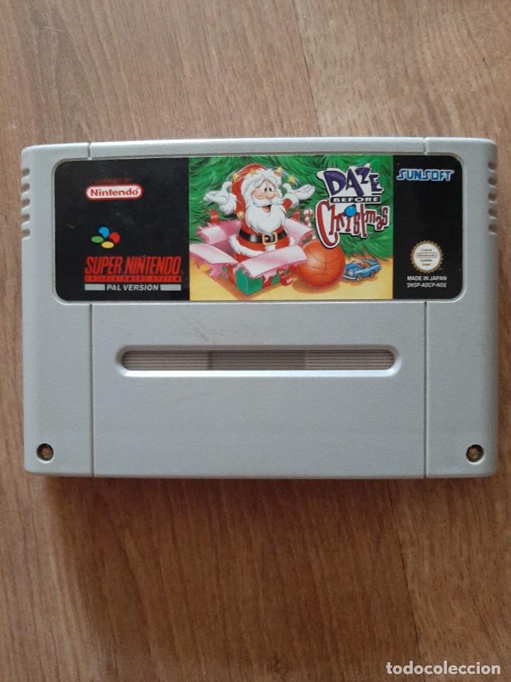 DAZE BEFORE CHRISTMAS NUNCA ANTES EN TODOCOLECCION (Juguetes - Videojuegos y Consolas - Nintendo - SuperNintendo)