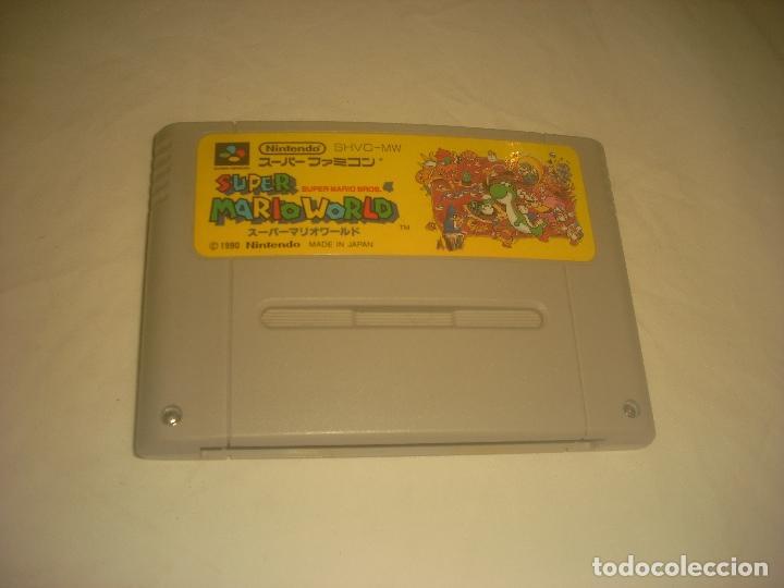 SUPER MARIO WORLD NINTENDO . JAPAN. (Juguetes - Videojuegos y Consolas - Nintendo - SuperNintendo)