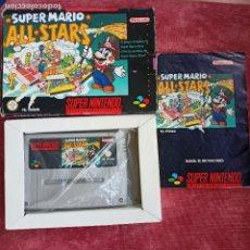 Videojuegos y Consolas: SUPER MARIO ALL STARS PARA SUPER NINTENDO NES CON CAJA E INSTRUCCIONES PAL SNES. Lote 286500528