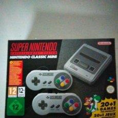 Videojuegos y Consolas: SUPER NINTENDO CLASSIC MINI 20+1. Lote 286611738