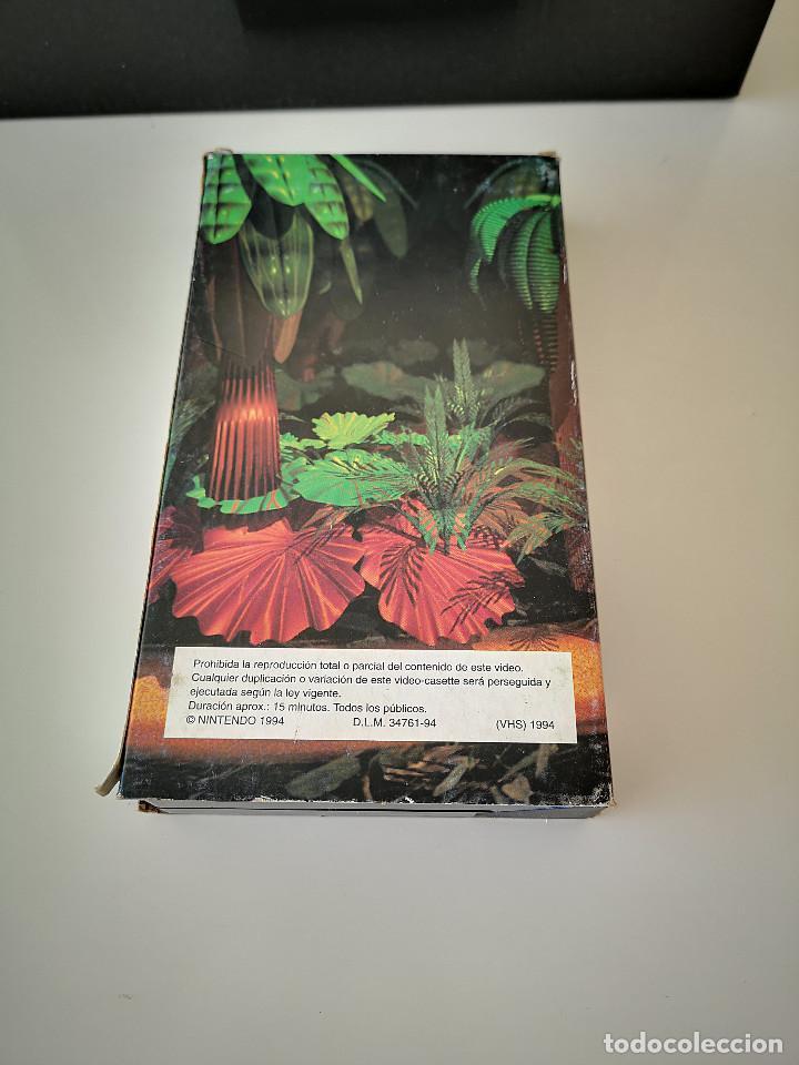 Videojuegos y Consolas: VHS DONKEY KONG COUNTRY COMO SE HIZO SUPER NINTENDO SNES HOBBY CONSOLAS 1994 JUEGO CARTUCHO - Foto 2 - 286869823