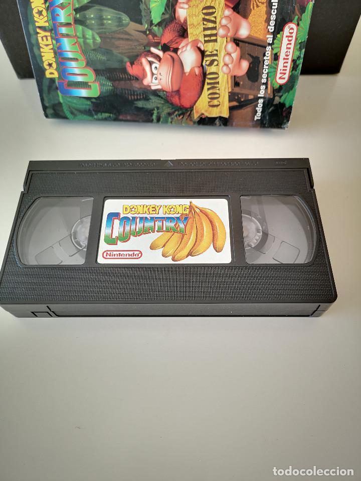 Videojuegos y Consolas: VHS DONKEY KONG COUNTRY COMO SE HIZO SUPER NINTENDO SNES HOBBY CONSOLAS 1994 JUEGO CARTUCHO - Foto 3 - 286869823