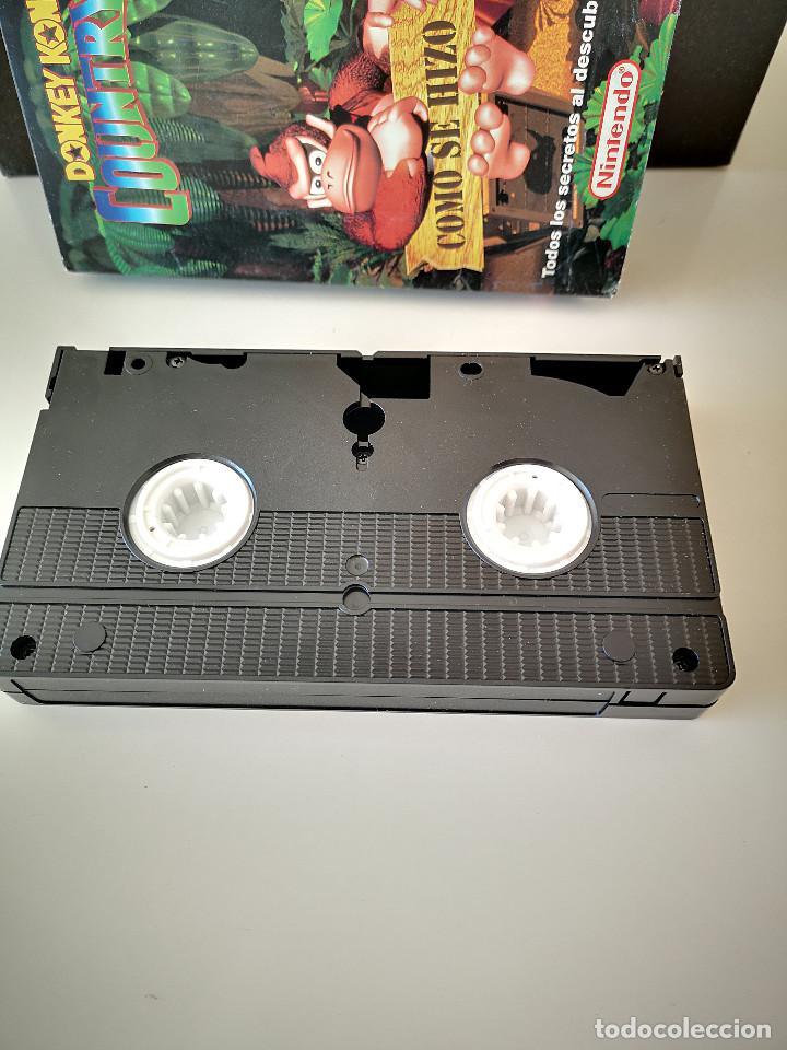 Videojuegos y Consolas: VHS DONKEY KONG COUNTRY COMO SE HIZO SUPER NINTENDO SNES HOBBY CONSOLAS 1994 JUEGO CARTUCHO - Foto 4 - 286869823