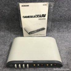 Videojuegos y Consolas: KONAMI GAME SELECTOR AV+MANUAL. Lote 287179363