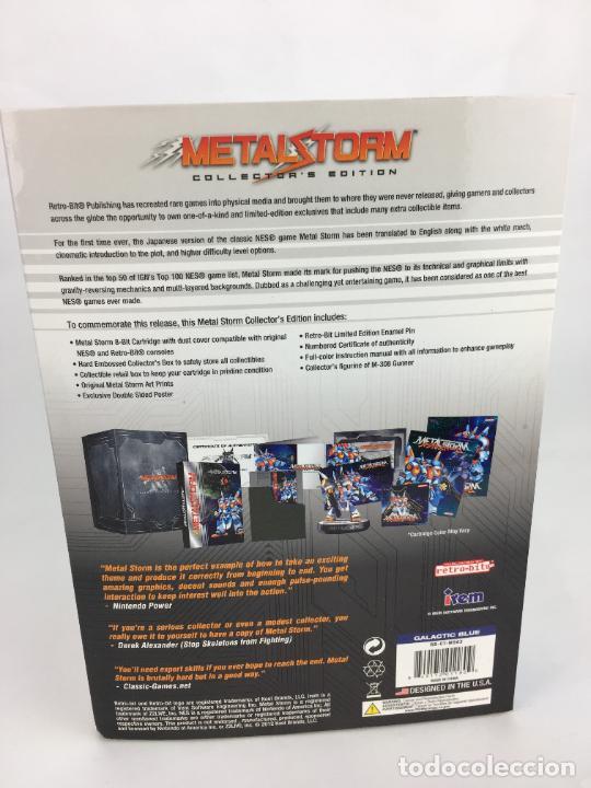 Videojuegos y Consolas: Juego NES Metal Storm Collectors Edition COMPLETO COMO NUEVO - Foto 4 - 287251493