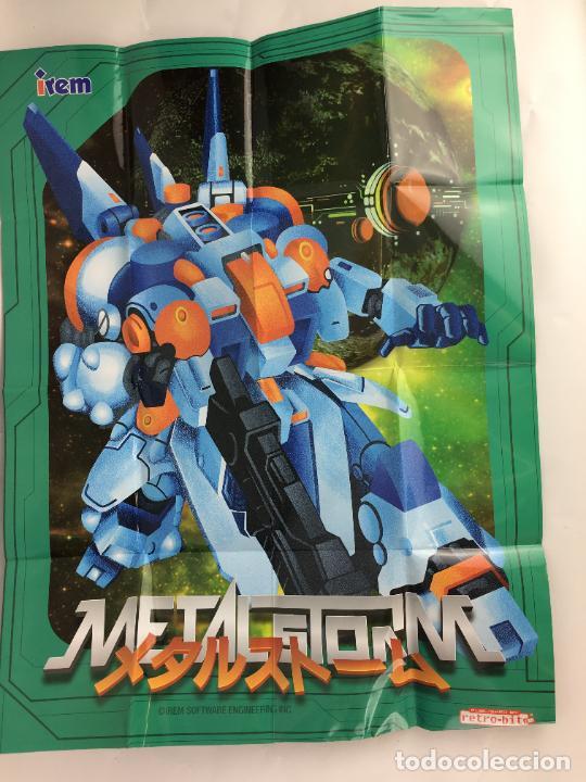 Videojuegos y Consolas: Juego NES Metal Storm Collectors Edition COMPLETO COMO NUEVO - Foto 12 - 287251493