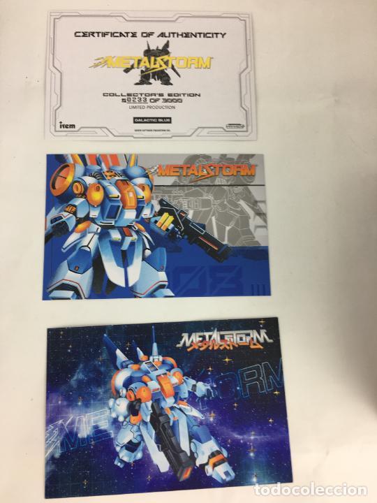 Videojuegos y Consolas: Juego NES Metal Storm Collectors Edition COMPLETO COMO NUEVO - Foto 14 - 287251493