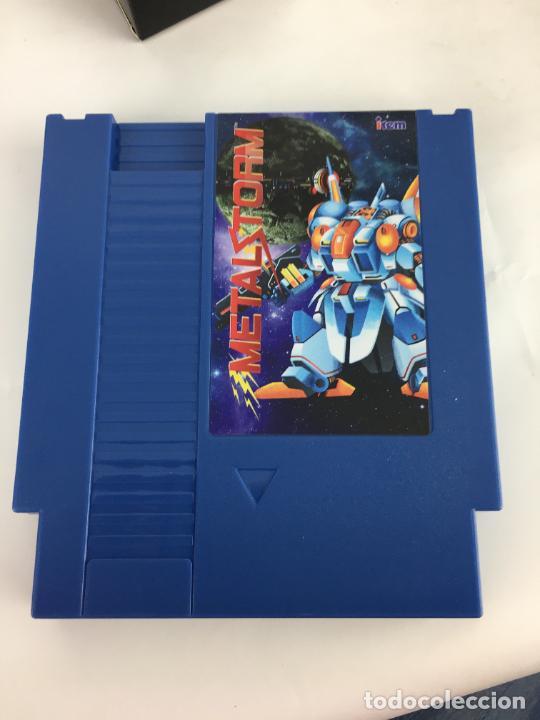 Videojuegos y Consolas: Juego NES Metal Storm Collectors Edition COMPLETO COMO NUEVO - Foto 16 - 287251493