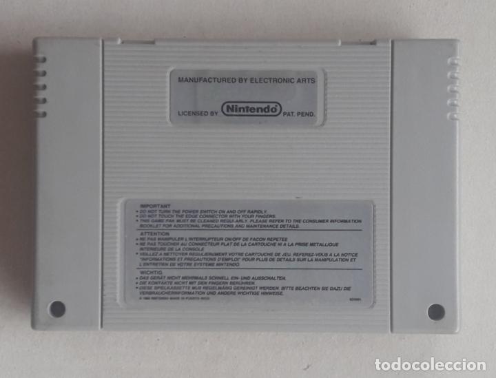 Videojuegos y Consolas: FIFA 97 juego SUPER NINTENDO SNES Pal CONSOLA - Foto 2 - 287375463