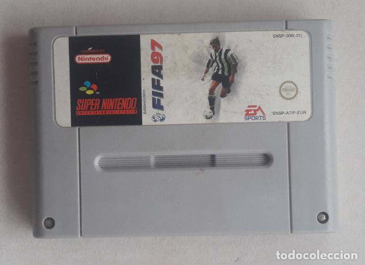 FIFA 97 JUEGO SUPER NINTENDO SNES PAL CONSOLA (Juguetes - Videojuegos y Consolas - Nintendo - SuperNintendo)