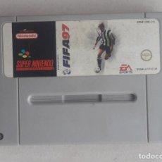 Videojuegos y Consolas: FIFA 97 JUEGO SUPER NINTENDO SNES PAL CONSOLA. Lote 287375463