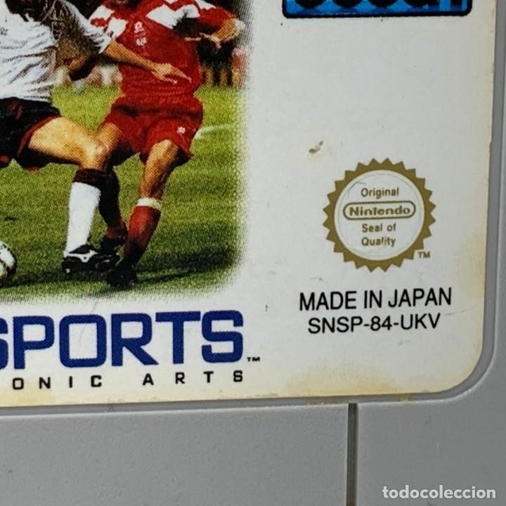 Videojuegos y Consolas: VIDEOJUEGO NINTENDO - SUPER NINTENDO - FIFA INTERNACIONAL SOCCER - SOLO CARTUCHO - UKV - PAL - Foto 2 - 287459193