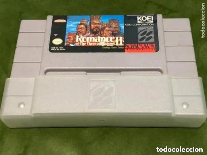 ANTIGUO JUEGO SUPER NINTENDO ROMANCE OF THE THREE KINGDOMS II (Juguetes - Videojuegos y Consolas - Nintendo - SuperNintendo)