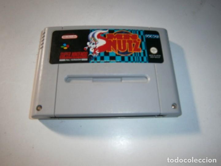MR. NUTZ SUPER NINTENDO SNES PAL ESPAÑA SOLO CARTUCHO (Juguetes - Videojuegos y Consolas - Nintendo - SuperNintendo)