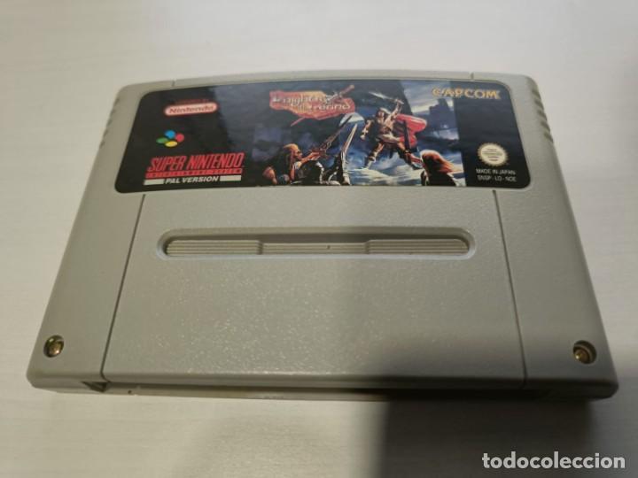 KNIGHTS OF THE ROUND PAL ESPAÑA SNES (Juguetes - Videojuegos y Consolas - Nintendo - SuperNintendo)