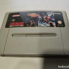 Videojuegos y Consolas: KNIGHTS OF THE ROUND PAL ESPAÑA SNES. Lote 287798843
