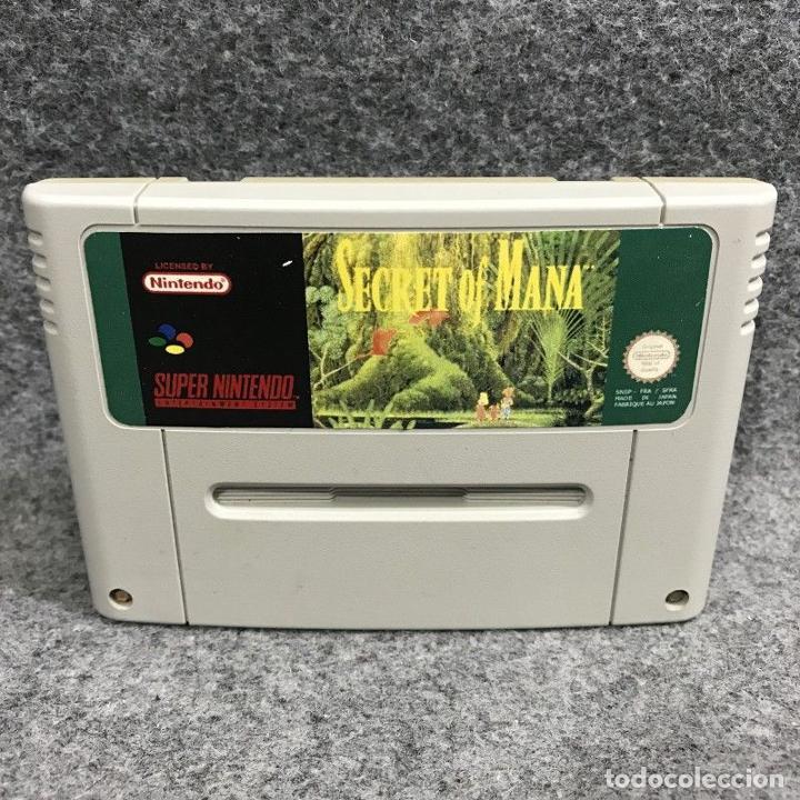 SECRET OF MANA ESPAÑOL REPRO SUPER NINTENDO SNES (Juguetes - Videojuegos y Consolas - Nintendo - SuperNintendo)