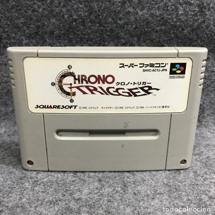 CHRONO TRIGGER JAP SUPER FAMICOM NINTENDO SNES (Juguetes - Videojuegos y Consolas - Nintendo - SuperNintendo)