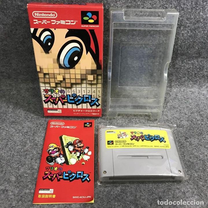 MARIO NO SUPER PICROSS JAP SUPER FAMICOM NINTENDO SNES (Juguetes - Videojuegos y Consolas - Nintendo - SuperNintendo)