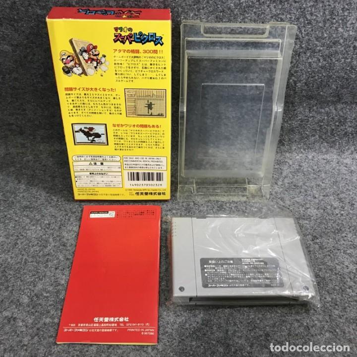 Videojuegos y Consolas: MARIO NO SUPER PICROSS JAP SUPER FAMICOM NINTENDO SNES - Foto 2 - 287805128