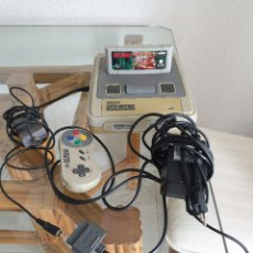 Videojuegos y Consolas: SUPER NINTENDO CON JUEGO DONKEY KONG COUNTRY. Lote 287906993