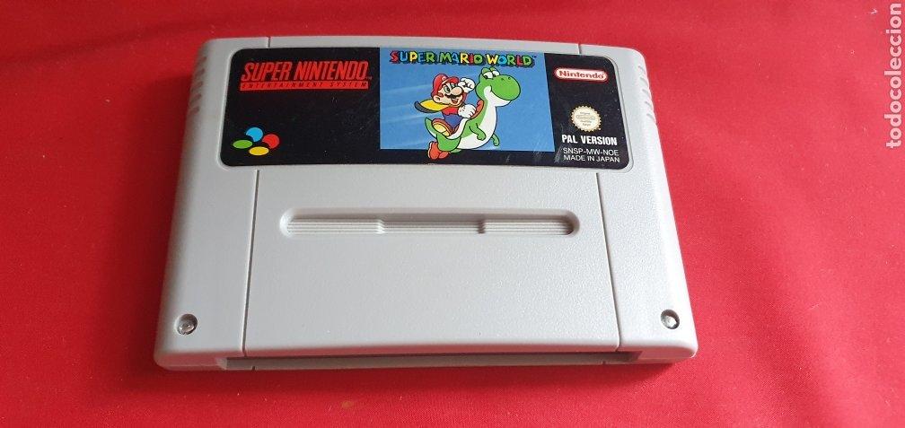 JUEGO SUPER MARIO WORLD SUPER NINTENDO (Juguetes - Videojuegos y Consolas - Nintendo - SuperNintendo)