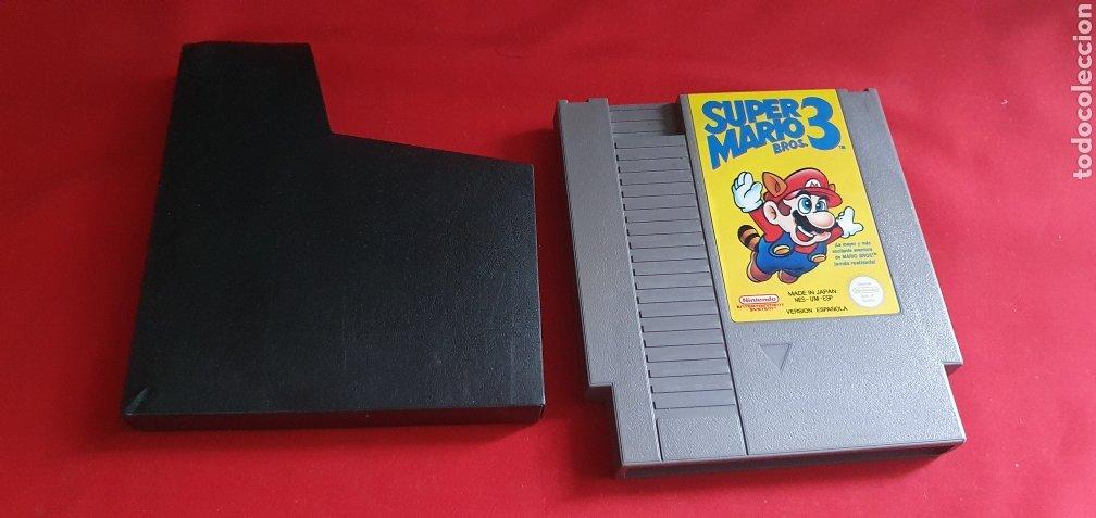 JUEGO SUPER MARIO 3 NINTENDO PERSION ESPAÑOLA (Juguetes - Videojuegos y Consolas - Nintendo - SuperNintendo)