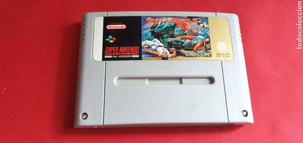 JUEGO STREET FIGHTER SUPER NINTENDO (Juguetes - Videojuegos y Consolas - Nintendo - SuperNintendo)