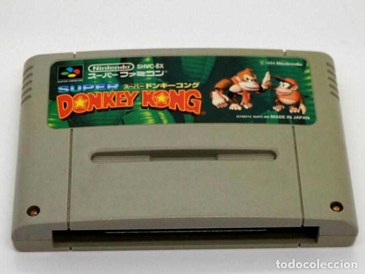 JUEGO DONKEY KONG SNES SUPER NINTENDO SOLO CARTUCHO (Juguetes - Videojuegos y Consolas - Nintendo - SuperNintendo)