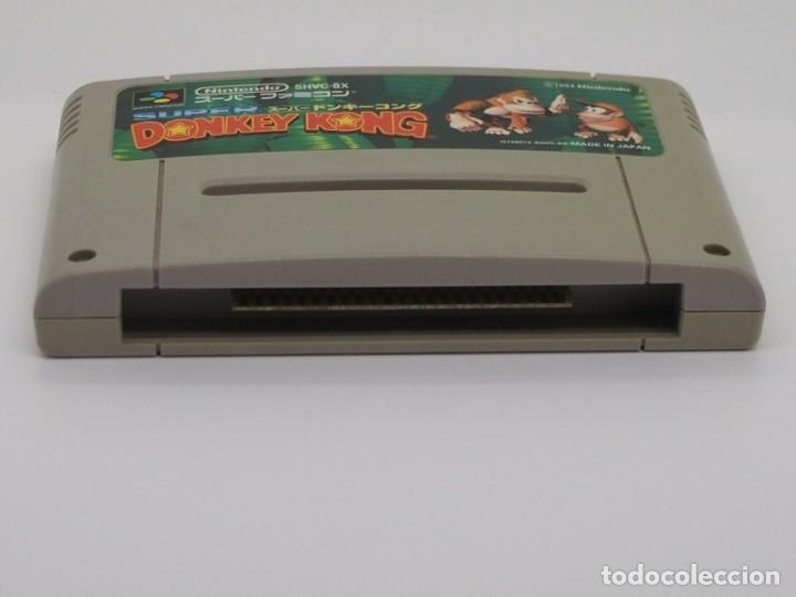 Videojuegos y Consolas: JUEGO DONKEY KONG SNES SUPER NINTENDO SOLO CARTUCHO - Foto 2 - 288215413