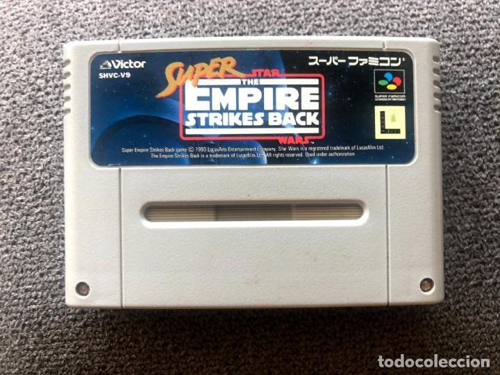 CARTUCHO SUPER STAR WARS EMPIRE STRIKES BACK - SUPER FAMICOM (Juguetes - Videojuegos y Consolas - Nintendo - SuperNintendo)