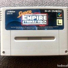Videojuegos y Consolas: CARTUCHO SUPER STAR WARS EMPIRE STRIKES BACK - SUPER FAMICOM. Lote 288376298