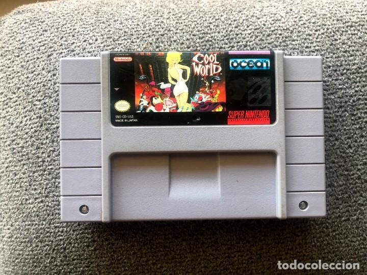 CARTUCHO COOL WORLD - SUPER NINTENDO - NTSC US (Juguetes - Videojuegos y Consolas - Nintendo - SuperNintendo)
