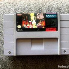 Videojuegos y Consolas: CARTUCHO COOL WORLD - SUPER NINTENDO - NTSC US. Lote 288376503