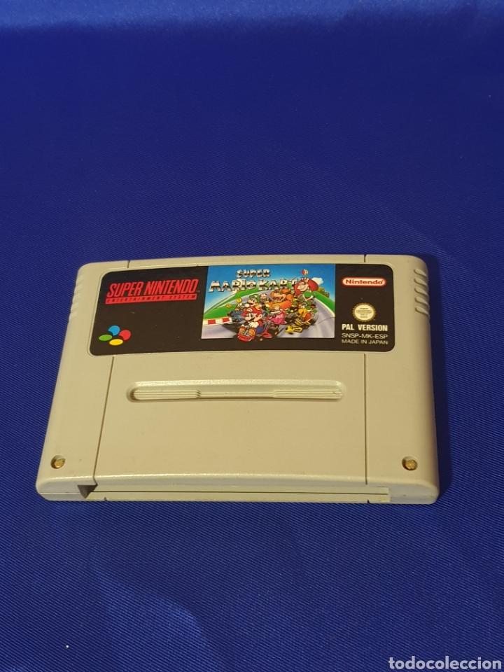 SUPER MARIO KART SUPER NINTENDO (Juguetes - Videojuegos y Consolas - Nintendo - SuperNintendo)