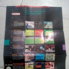 Videojuegos y Consolas: SUPER NINTENDO; FOLLETO. Lote 288643003