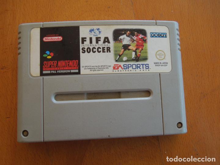CARTUCHO FIFA INTERNATIONAL SOCCER SUPER NINTENDO. (Juguetes - Videojuegos y Consolas - Nintendo - SuperNintendo)