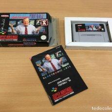 Videojuegos y Consolas: JUEGO SUPER NINTENDO PAL - JOHN MADDEN FOOTBALL NFL 93 DE EA SPORTS (1994). Lote 288740923