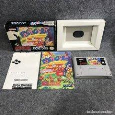 Videojuegos y Consolas: PUSH OVER SUPER NINTENDO SNES. Lote 289938918