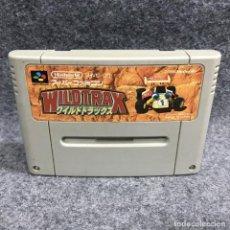 Videojuegos y Consolas: WILDTRAX JAP SUPER FAMICOM NINTENDO SNES. Lote 289938928
